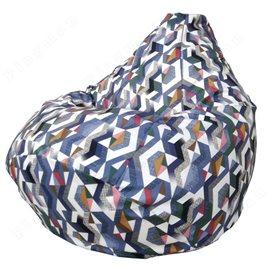 Бескаркасное кресло-мешок Груша Джет 01 Г2.5-79