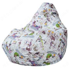 Бескаркасное кресло-мешок Груша Girls life 01