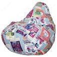 Бескаркасное кресло-мешок Груша Дрим 01