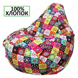 Бескаркасное кресло-мешок Груша Г2.6-16