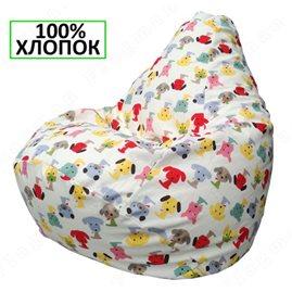 Бескаркасное кресло-мешок Груша Г2.6-18