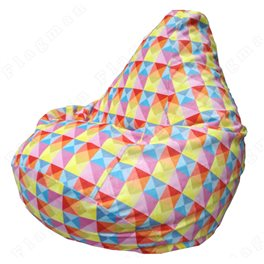 Бескаркасное кресло-мешок Груша Romb 01 Г2.5-131