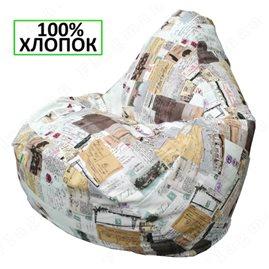 Бескаркасное кресло-мешок Груша Г2.6-21
