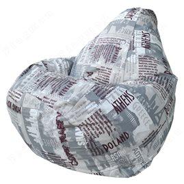 Бескаркасное кресло-мешок Груша City Г2.7-07