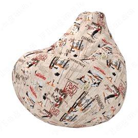 Бескаркасное кресло-мешок Груша Мантин А01