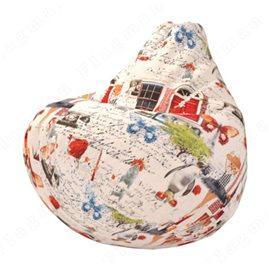 Бескаркасное кресло-мешок Груша Моника А01