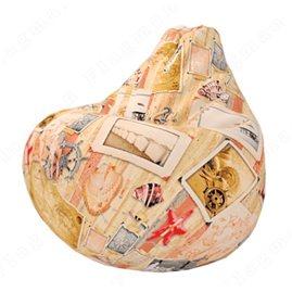 Бескаркасное кресло-мешок Груша Стелла