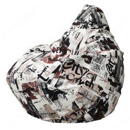 Бескаркасное кресло-мешок Груша City Г2.5-133
