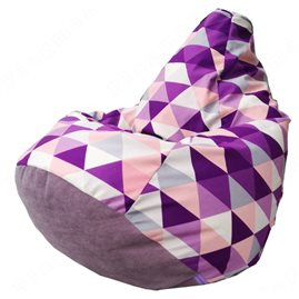 Бескаркасное кресло-мешок Груша Romb Г2.5-134