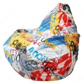 Бескаркасное кресло-мешок Груша Г2.5-135