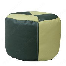 Кресло-мешок пуфик зелёный+салатовый П2.1-18
