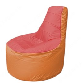 Живое кресло-мешокТрон Т1.1-0205(красный-оранжевый)