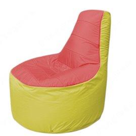 Живое кресло-мешокТрон Т1.1-0206(красный-желтый)