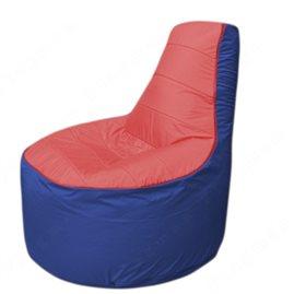 Живое кресло-мешокТрон Т1.1-0214(красный-синий)