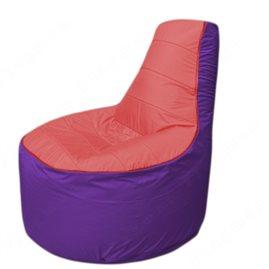 Живое кресло-мешокТрон Т1.1-0218(красный-фиолетовый)