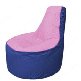 Живое кресло-мешокТрон Т1.1-0314(розовый-синий)