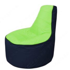 Живое кресло-мешокТрон Т1.1-0716(салатовый-тем.синий)