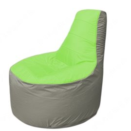 Живое кресло-мешокТрон Т1.1-0722(салатовый-серый)