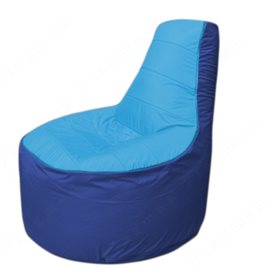 Живое кресло-мешокТрон Т1.1-1314(голубой-синий)