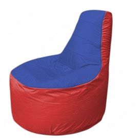 Живое кресло-мешокТрон Т1.1-1402(синий-красный)