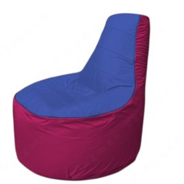 Живое кресло-мешокТрон Т1.1-1404(синий-фуксия)