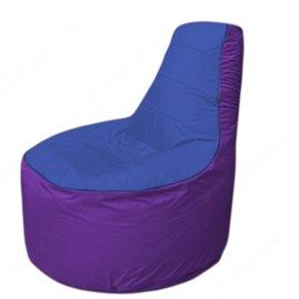 Живое кресло-мешокТрон Т1.1-1418(синий-фиолетовый)