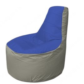 Живое кресло-мешокТрон Т1.1-1422(синий-серый)