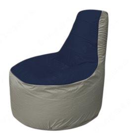 Живое кресло-мешокТрон Т1.1-1622(тем.синий-серый)