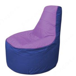 Живое кресло-мешокТрон Т1.1-1714(сиренивый-синий)