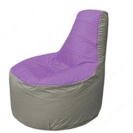 Живое кресло-мешокТрон Т1.1-1722(сиренивый-серый)