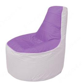 Живое кресло-мешокТрон Т1.1-1725(сиреневый-белый)