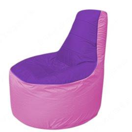 Живое кресло-мешокТрон Т1.1-1803(фиолетовый-розовый)