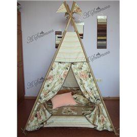 Игровая палатка - вигвам 12