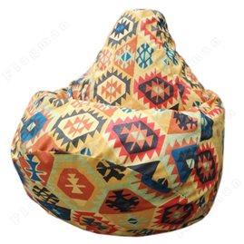 Бескаркасное кресло-мешок Груша Мехико