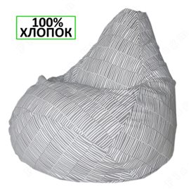 Кресло-мешок Груша Бамбуковый коврик