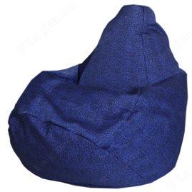 Кресло-мешок Груша Королевский синий