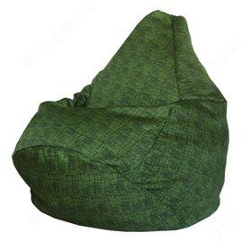Кресло-мешок Груша Зелёный бриллиант