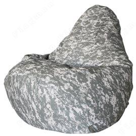 Бескаркасное кресло-мешок Груша Серый пикси
