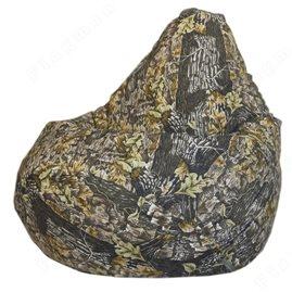 Бескаркасное кресло-мешок Груша Дуб