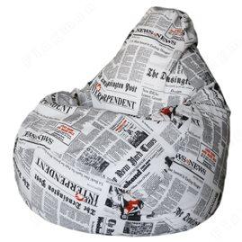 Бескаркасное кресло-мешок Груша New York Times