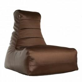 Кресло-мешок Бумеранг коричневое