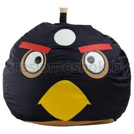 Кресло-мешок Птичка Шар черный
