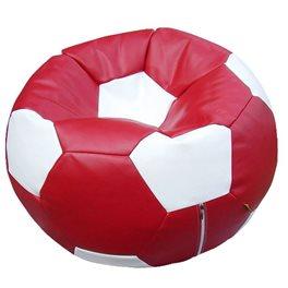Кресло-мешок Мяч Стандарт бордово-белый