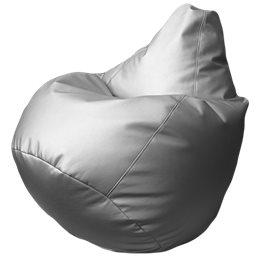 Кресло-мешок Груша Мега Сильвер