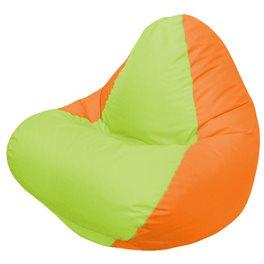 Кресло-мешок RELAX оранжевое, сидушка сатовая