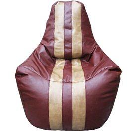 Кресло-мешок Спортинг бордовый