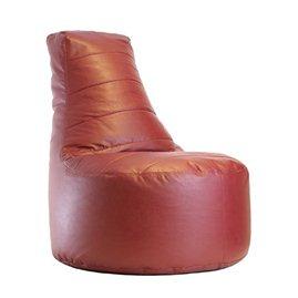 Бескаркасное кресло Чил Аут экокожа (85 х 105 см) бордо