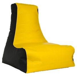 Бескаркасное кресло мешок Бумеранг экокожа
