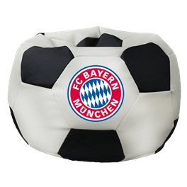 Бескаркасное кресло-мешок Мяч Стандарт Бавария