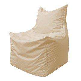 Бескаркасное кресло мешок Фокс Ф2.1-13 (светло-бежевый)